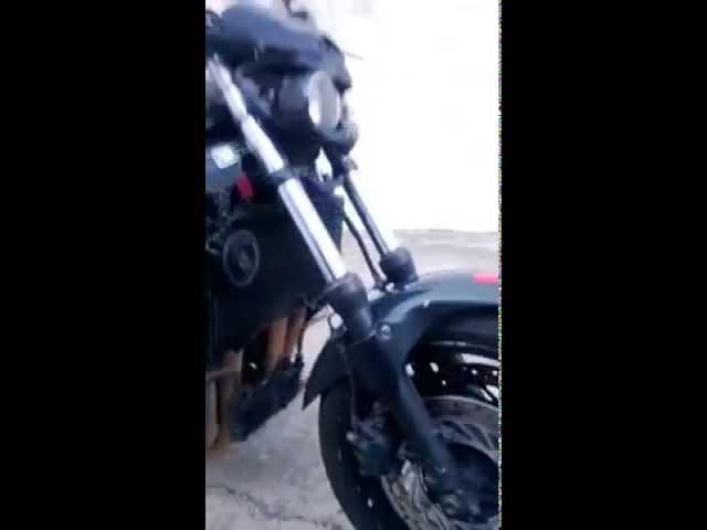 Honda CBR 1000f streetfighter