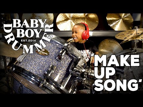 """""""Make up Song"""" by LJ """"Baby Boy Drummer"""""""
