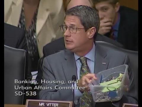 Vitter Gets Commitment for a Hearing with FEMA from Senate Banking Committee