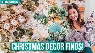 CHRISTMAS DECOR HAUL! Ikea & HomeSense Finds