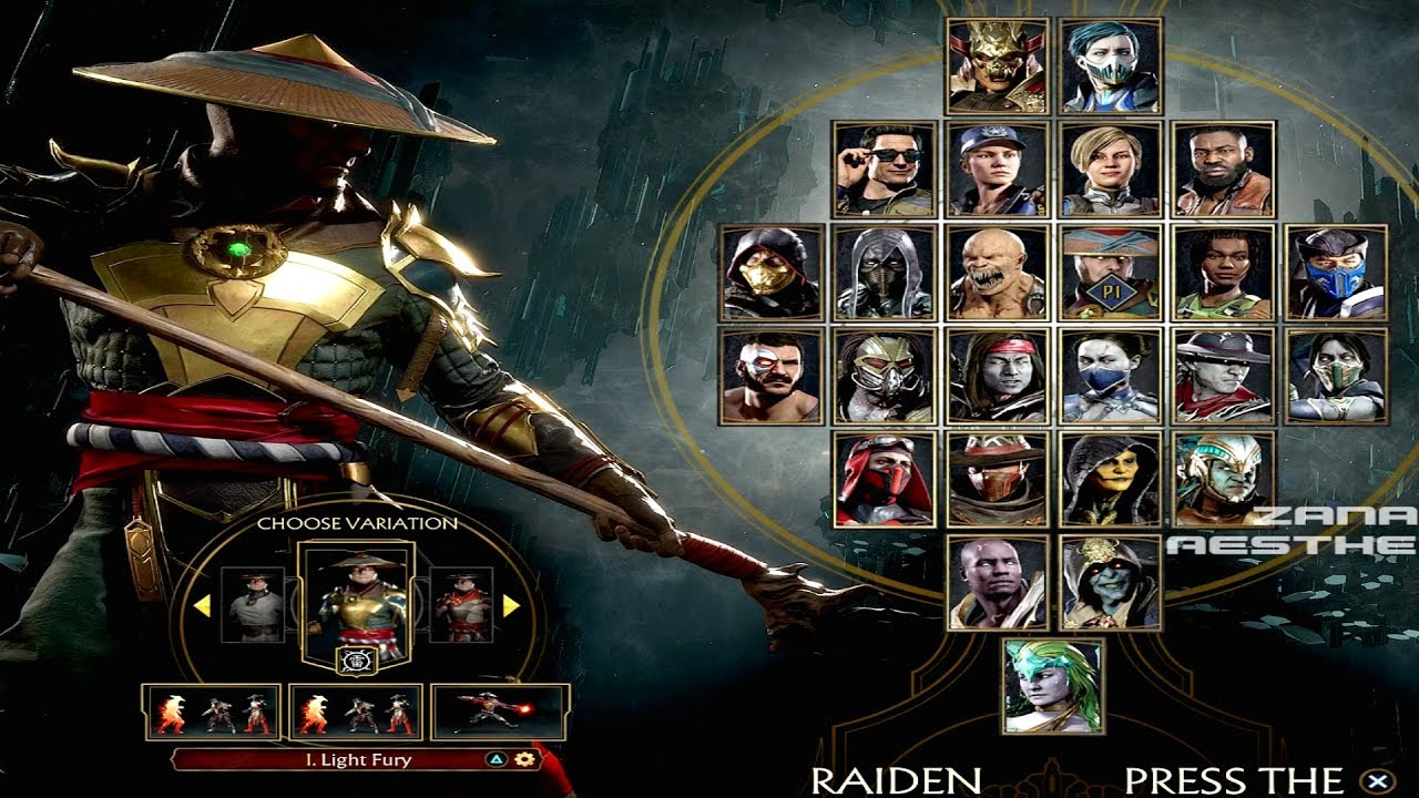 Mortal Kombat 11 All Characters Full Roster All 25 Characters
