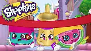 SHOPKINS Cartoon - RACE TO THE FINISH | Cartoons For Children