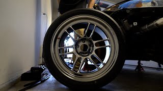 homepage tile video photo for THE BEST BUDGET WHEEL INSTALL   ENKEI RPF1 SBC & TOYO R888R FOR THE STI