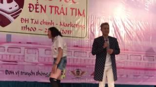 Thanh Duy giao lưu biểu diễn tại DH Tài Chính-Marketing, full, 22-04-17