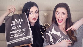 HUGE Lush Haul 2015 With Toxic Tears!