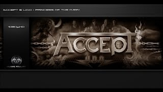 Accept & U.D.O. - Princess Of The Dawn [Original Track HQ-1080pᴴᴰ] + Lyrics
