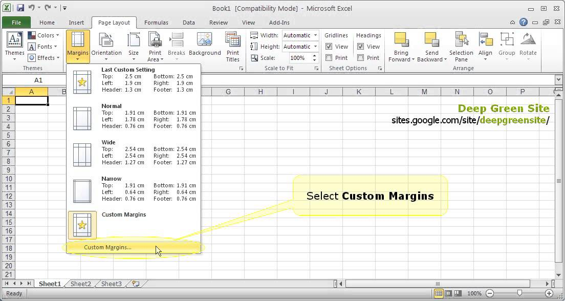 Printing PowerPoint: Slide size v. Printer Page size
