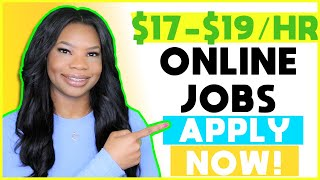🤑 $17-$19 HOURLY Work-From-Home Jobs! Get Paid to Listen to Phone Calls ☎  | Apply NOW!