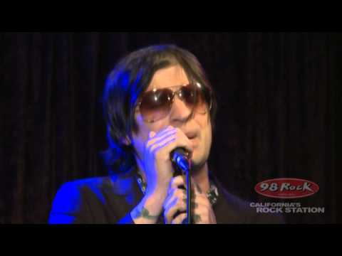 """Hinder """"All American Nightmare"""" At 98 Rock California's Rock Station"""