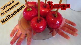 Яблоко в Глазури рецепт на хэллоуин Девушкам смотреть обязательно)
