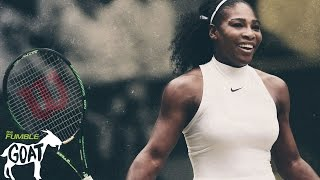 Serena Williams: Serving Dominance -Fumble GOAT Series