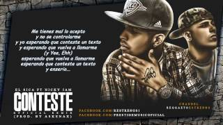 Conteste   - El Sica Ft. Nicky Jam    Reggaeton 2014