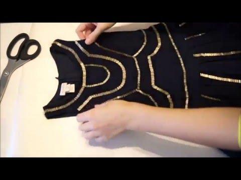 Смотреть Выкройка платья трапеции