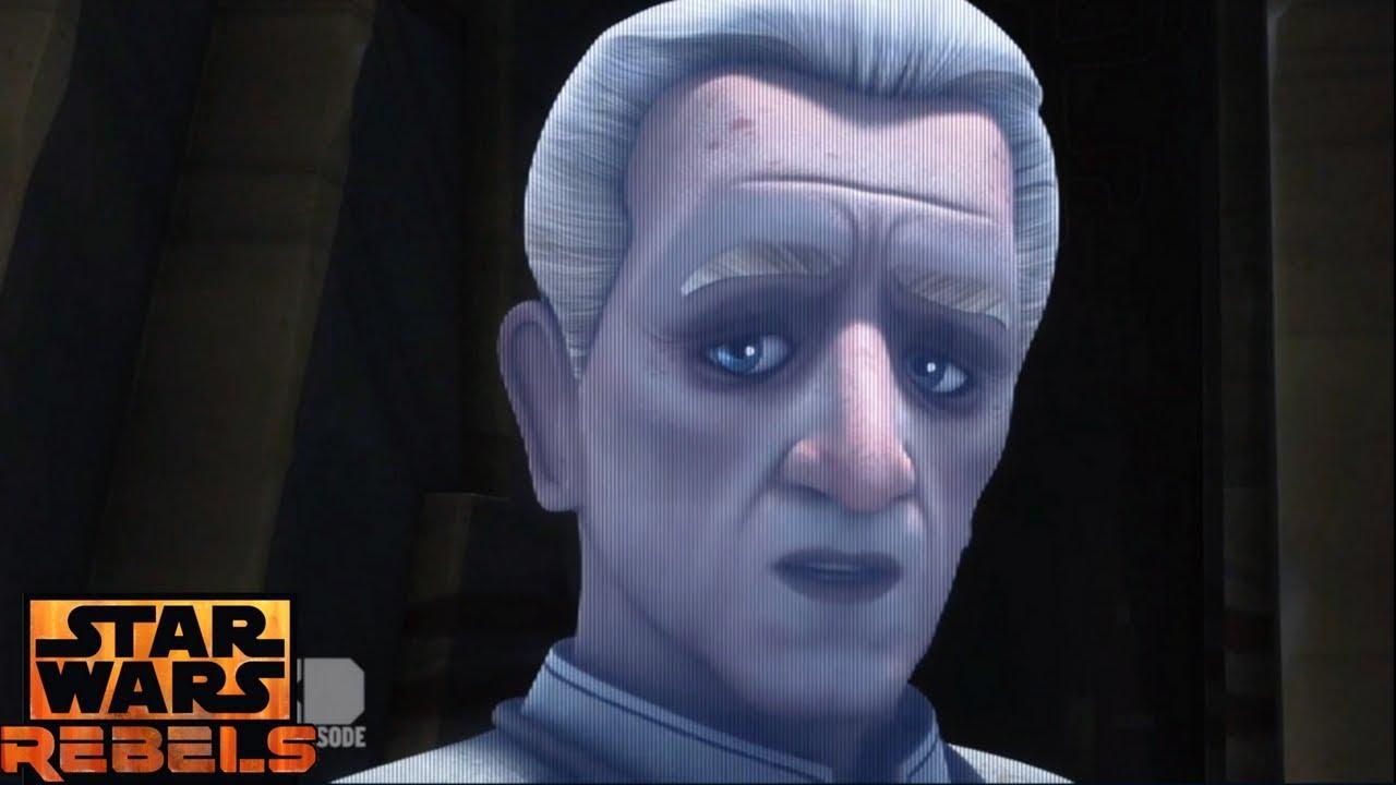 Star Wars Rebels Ezra Meets Emperor Palpatine YouTube