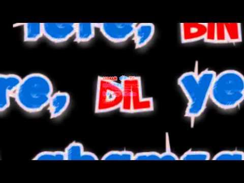 Zid - Saanson Ko (Arijit Singh) | Song Lyrics