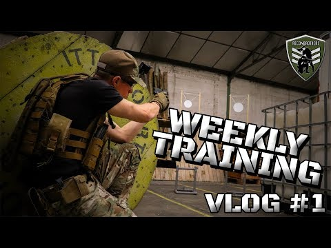 Airsoft Training - Reconbrothers Weekly Tactical CQB Drills