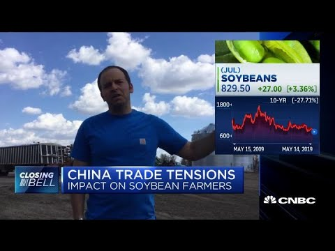 Soybean farmer discusses impact of China trade talks