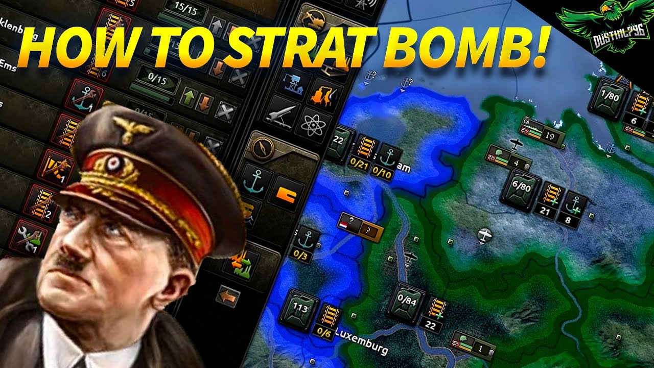 How to Strategic Bomb and Counter it (HOI4 and Hearts of iron Tutorial)