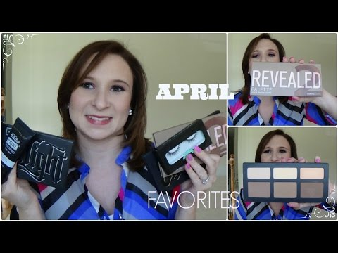 April Favorites: Kat Von D, Coastal Scents, Oh My-Lash and More