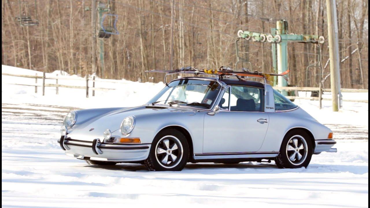1972 Porsche 911s Targa With Ski Rack Youtube
