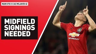 Midfield Signings Needed | Manchester United 2-2 AC Milan (5-4) Review