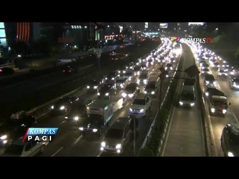 Kemacetan Sepanjang 40 KM Terjadi di Tol dalam Kota