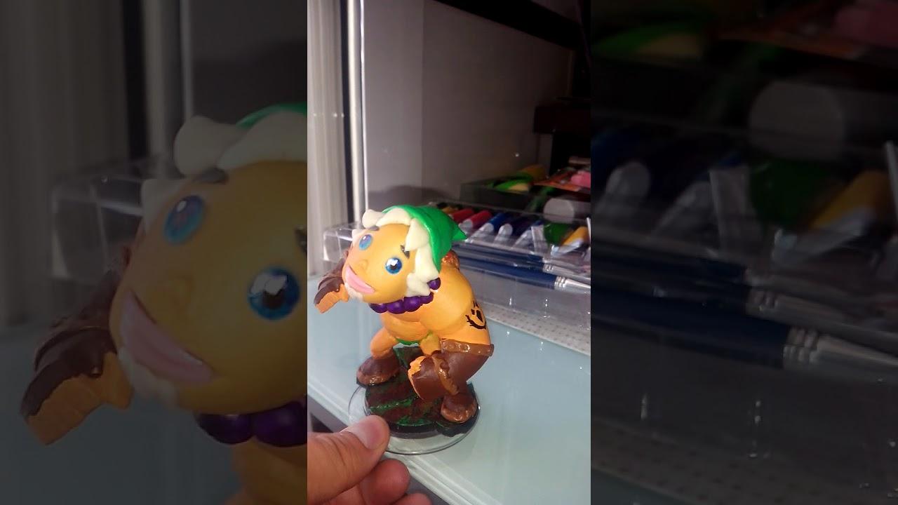 Amiibo Custom Link Goron Zelda Youtube