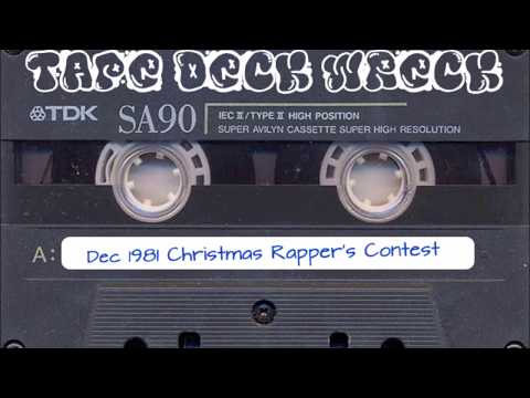 Christmas Rappers Contest at Harlem World Dec 1981 (restored)