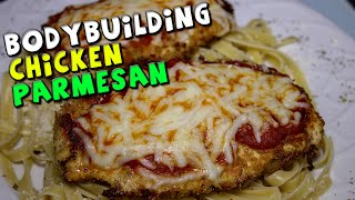 BODYBUIDING Chicken Parmesan Recipe (Quick)