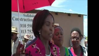 Winterveldt House Handover by Min Maite Nkoana-Mashabane