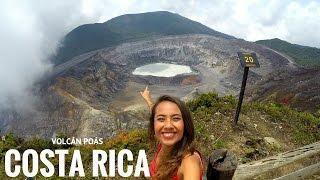 QUÉ HACER EN COSTA RICA 1 | VOLCÁN POÁS