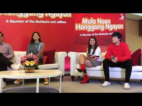 FULL VIDEO: Aga, Charlene, and 16-year old Atasha and Andres Muhlach reunite with Jollibee