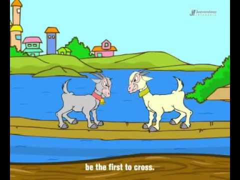 two silly goats popular nursery moral story youtube youtube