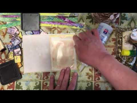 Craft With Me, Following Along With Sonya Stepto, Day 3 Part 1 :)