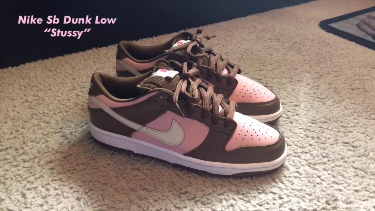 "Nike Sb Dunk Low ""Stussy"" 2005 On Feet"