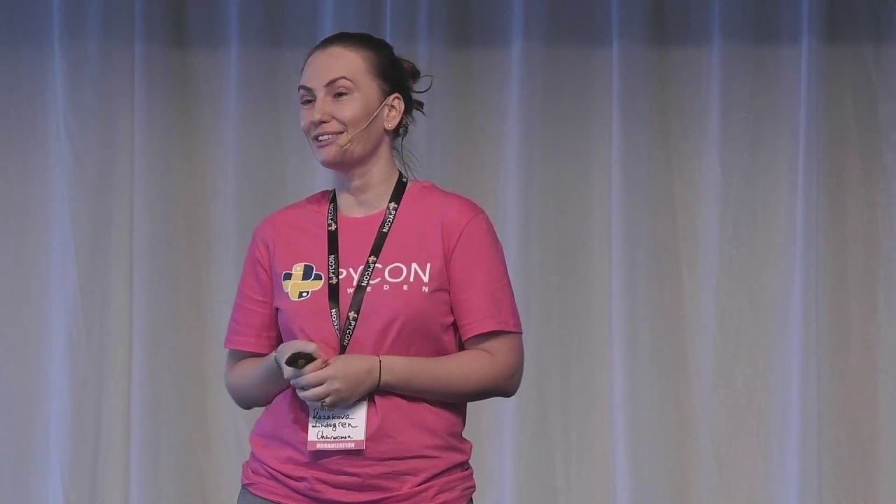 Image from PyCon Sweden 2019 Opening
