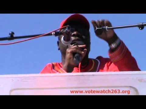 Morgan Tsvangirai - Full speech of address at Mkoba MDC-T Ra
