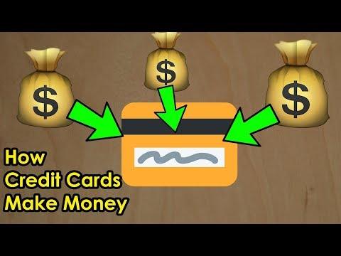 How do Credit Card Companies Make Money? $$