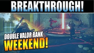 Destiny 2 News | DOUBLE VALOR Weekend & Breakthrough Gamemode Inbound! - This Week At Bungie