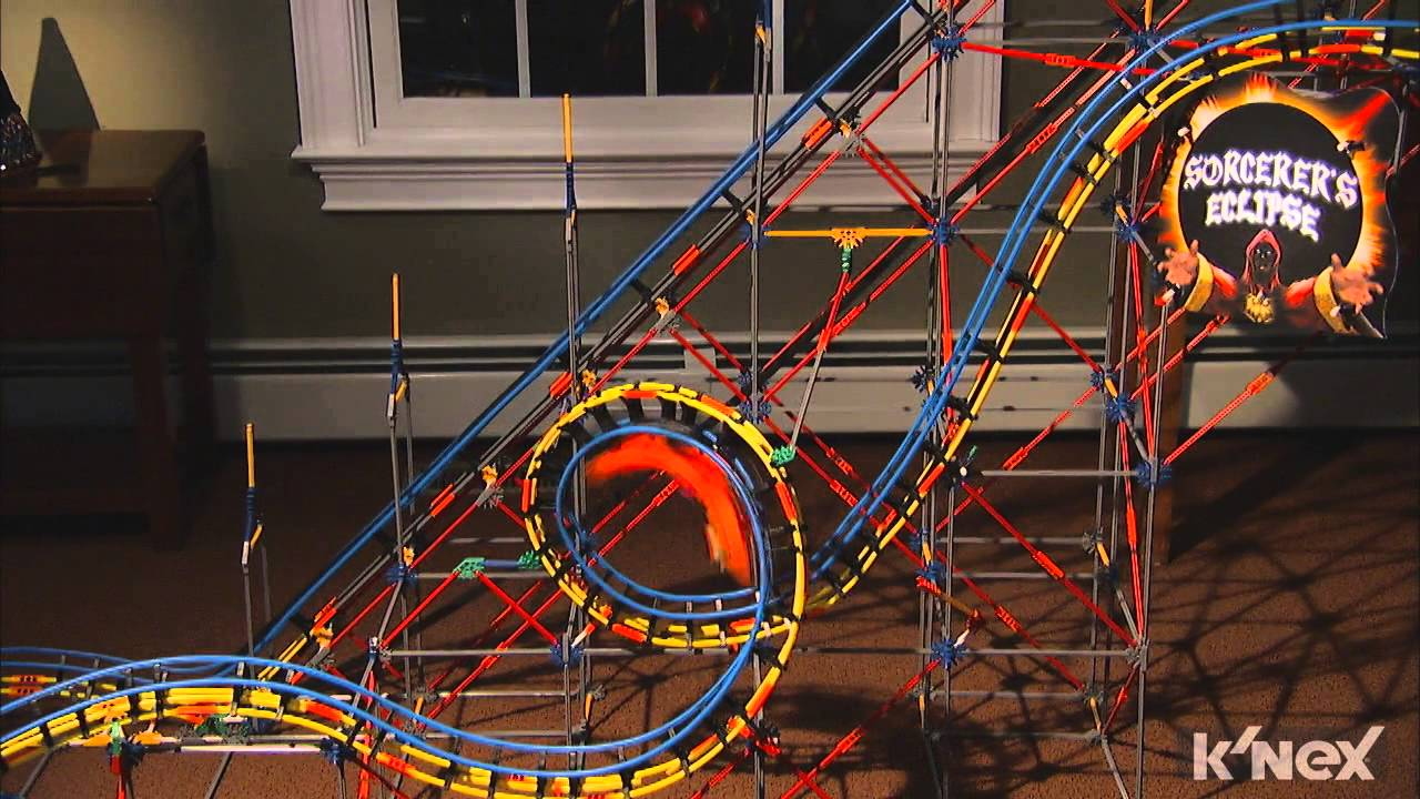 how to build a knex roller coaster with instructions