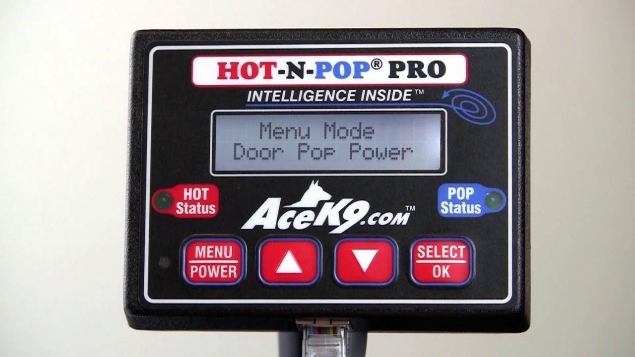 Hot-N-Pop® Pro Door Popper Power Setting Adjustment & Hot-N-Pop® Pro Door Popper Power Setting Adjustment - YouTube