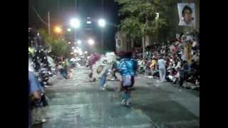 Comparsa Sangre de Teuco 2011 - Danza 26 Feb