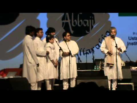 Homage to abbaji 2015, Geeta Upasani performs with Ut. Fazal Qureshi