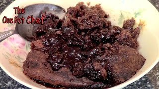 Chocolate Self Saucing Pudding - Recipe