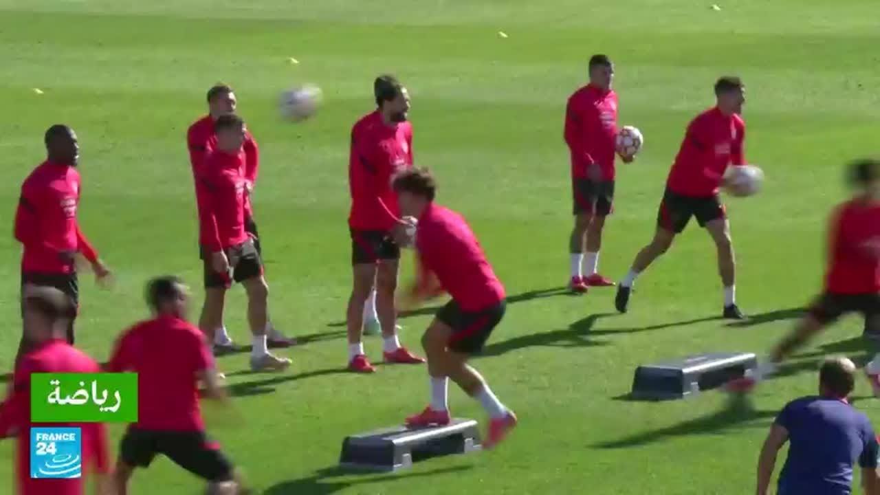 أتلتيكو مدريد يستضيف ليفربول في منافسات المجموعة الثانية من دوري أبطال أوروبا  - نشر قبل 19 ساعة