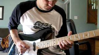 colin james - voodoo thing - Guitar Solo Cover