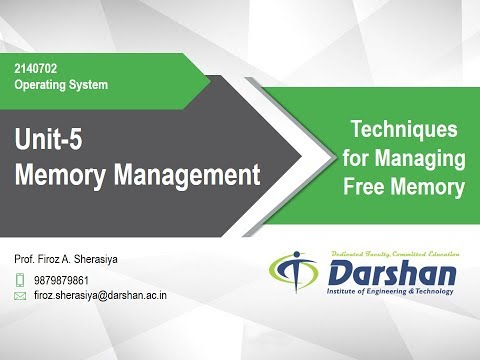 5.05 - Techniques for Managing Free Memory