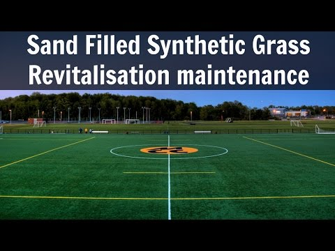 Sand Filled Synthetic Grass Revitalisation Maintenance