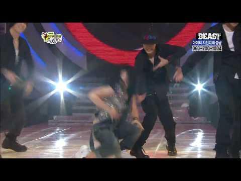 HD 100214 SinBongSun&BEAST  Change HyunA @ Stars Dance Battle