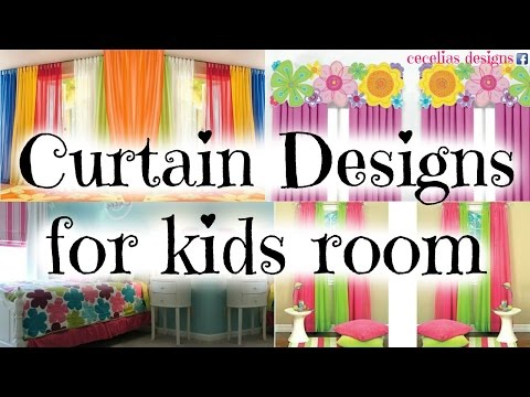 Curtain designs for kids rooms